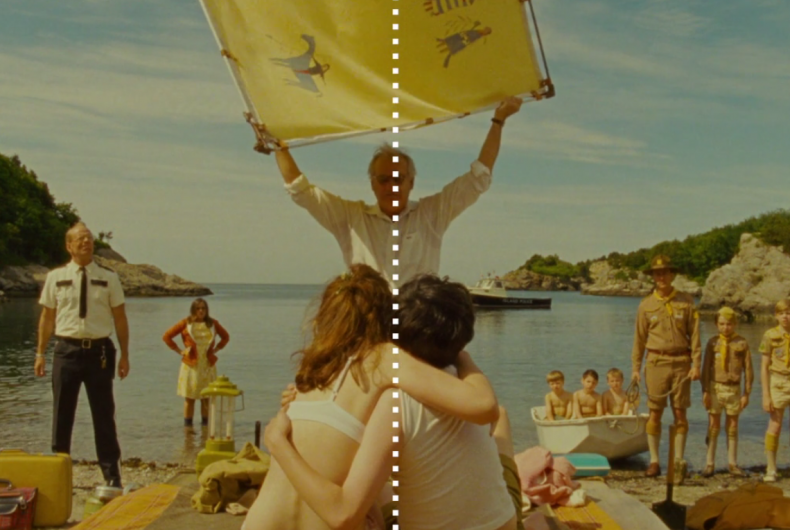 Short video for Breakfast – Centered, Wes Anderson e la simmetria perfetta