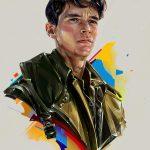 Denis Gonchar ha ritratto i migliori volti degli Oscar | Collater.al 7