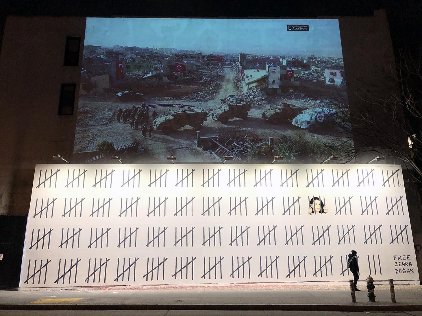Free Zehra, il nuovo murales di Banksy contro la censura turca | Collater.al 2