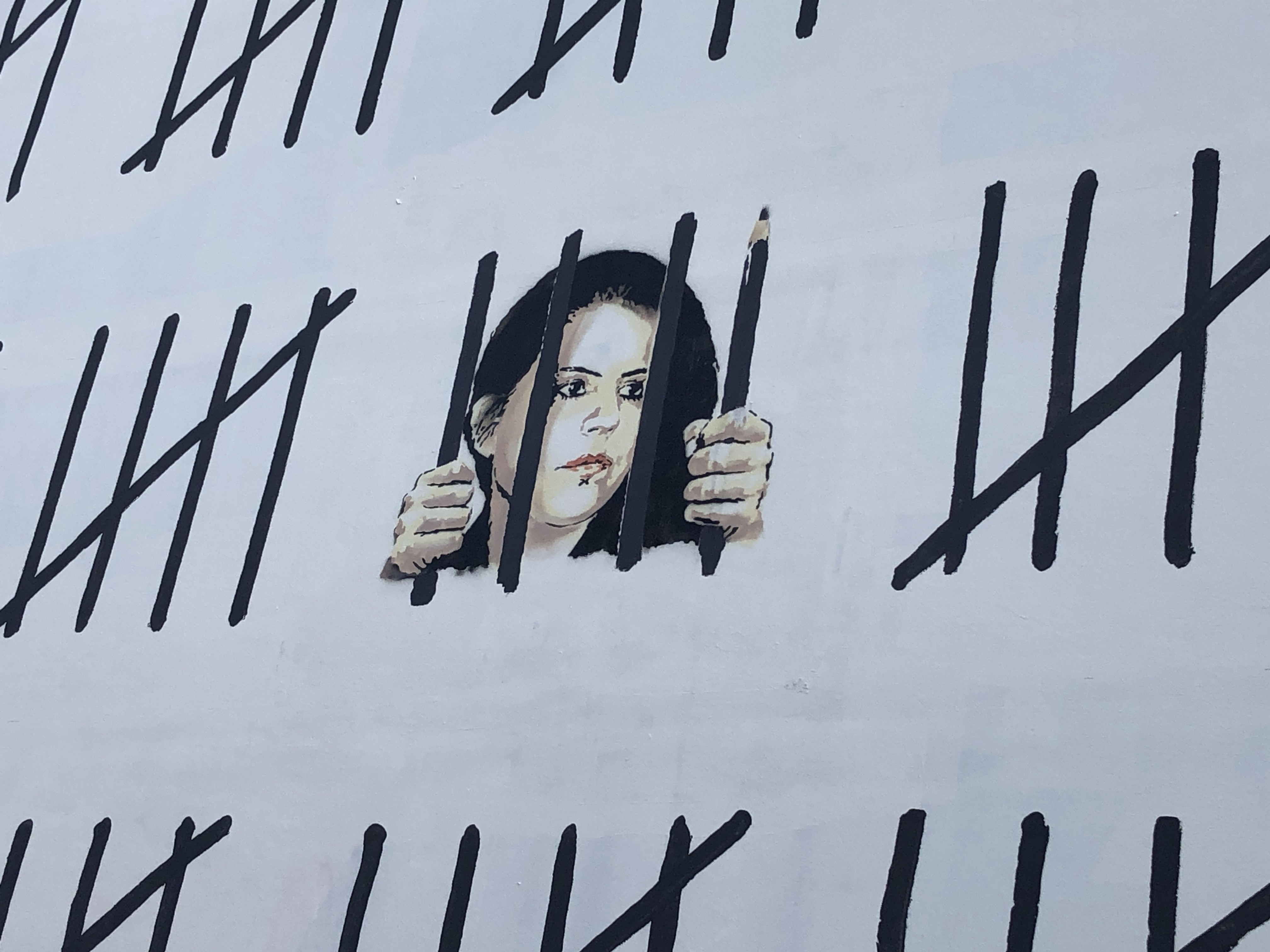 Free Zehra, il nuovo murales di Banksy contro la censura turca | Collater.al 3