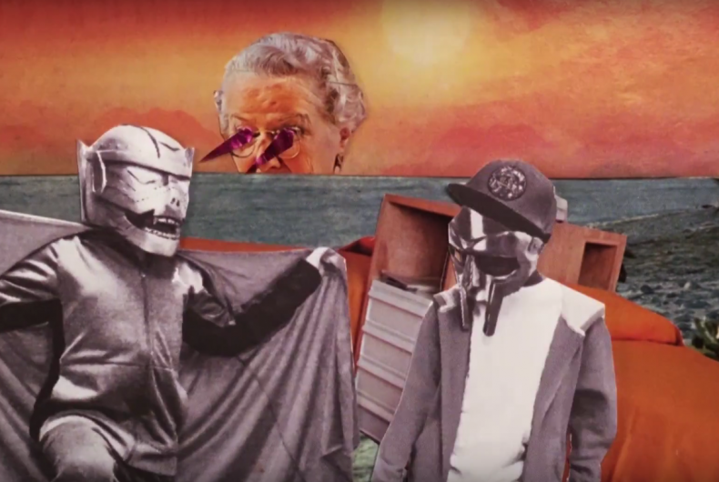 Guarda Bomb Thrown, il primo video di Czarface & MF DOOM