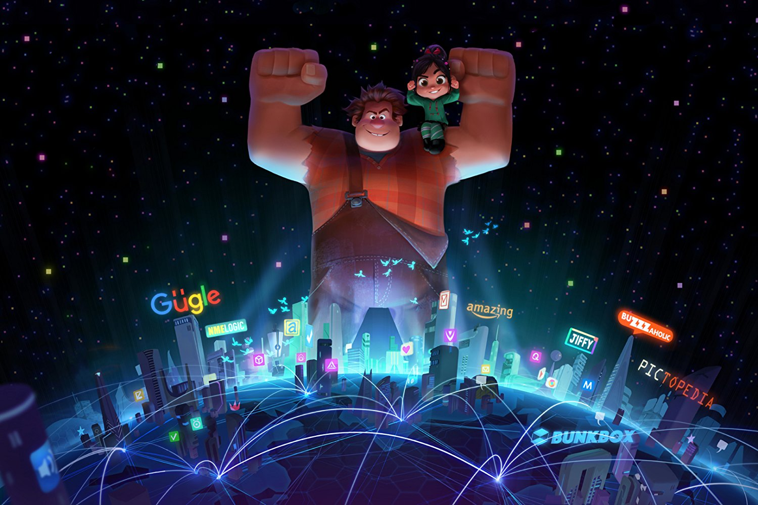 Guarda il trailer di Ralph Spaccattutto 2 Ralph Breaks the Internet | Collater.al 2