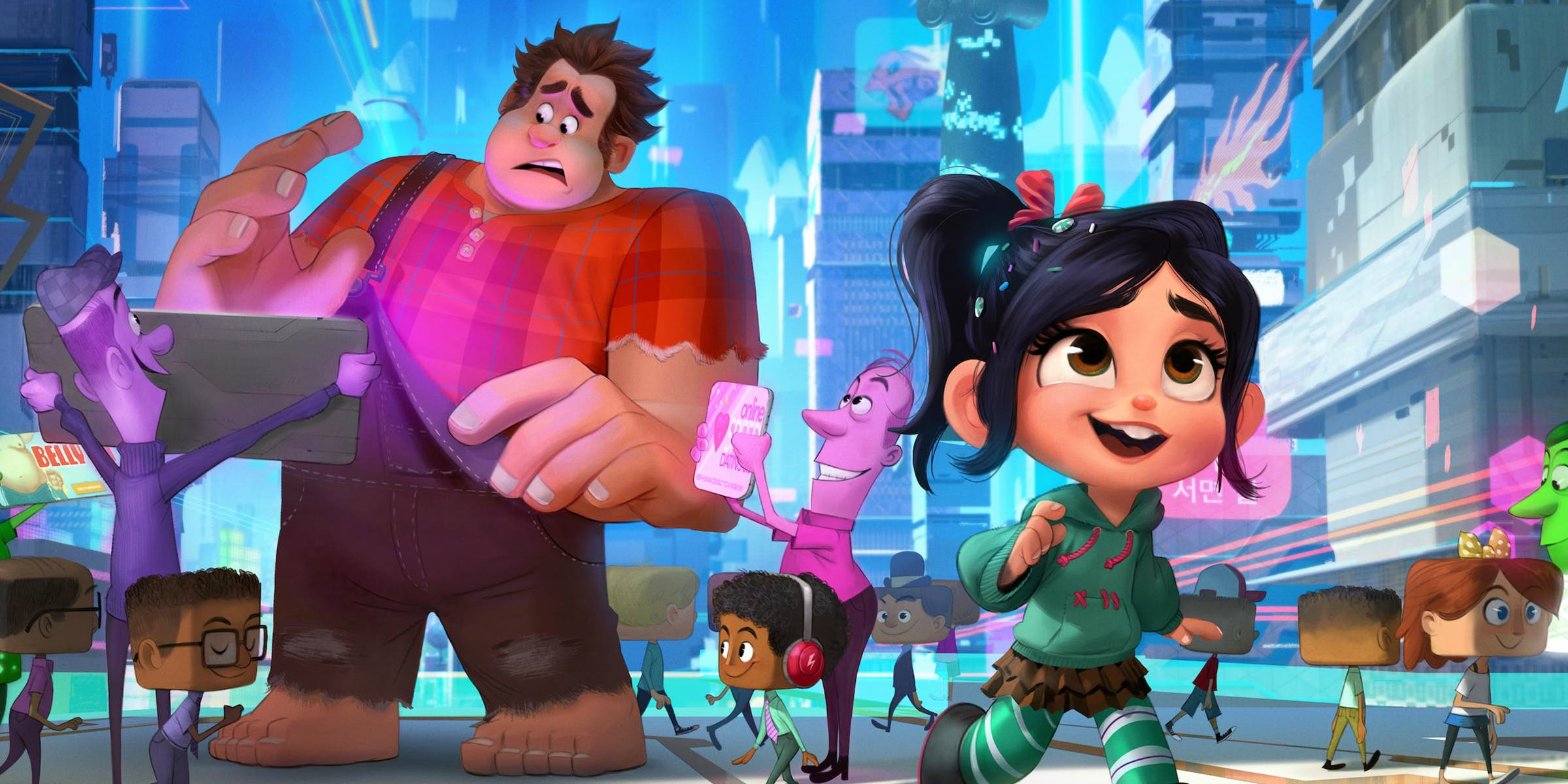 Guarda il trailer di Ralph Spaccattutto 2 Ralph Breaks the Internet | Collater.al 3