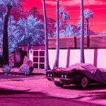 Infra Realism, Palm Springs si veste di rosa nelle foto di Kate Ballis | Collater.al 6