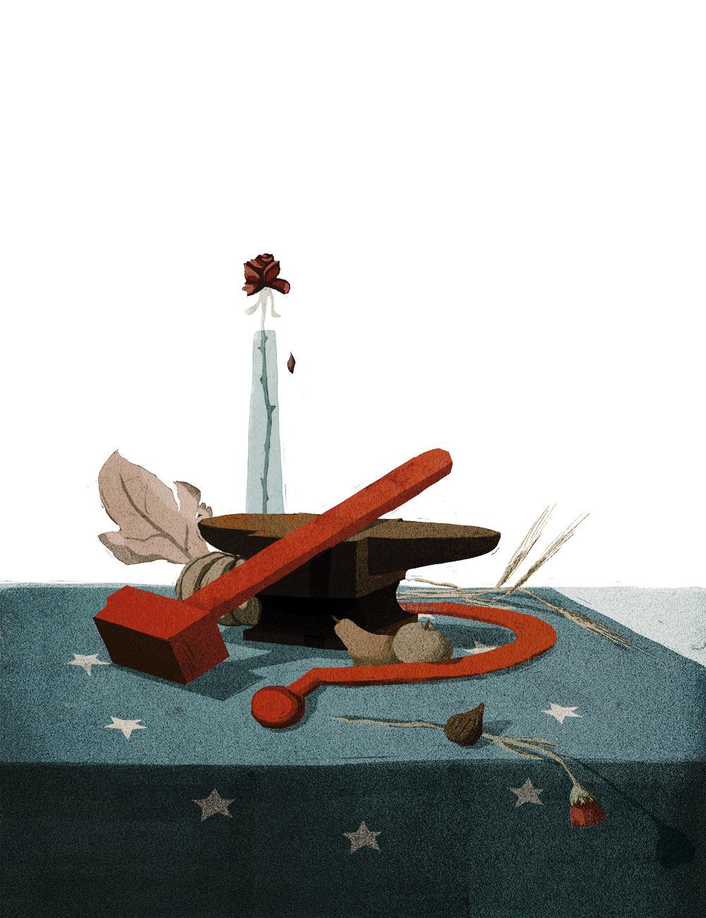 Le illustrazioni concettuali di Paolo Beghini | Collater.al 4