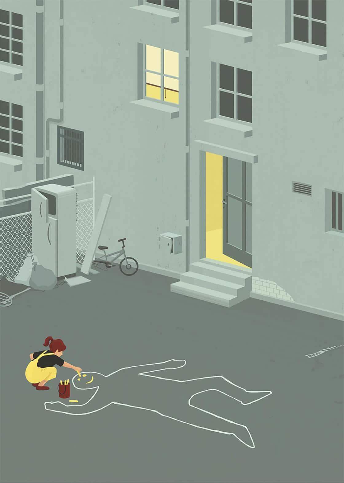 Le illustrazioni satiriche di Stephan Schmitz | Collater.al 13