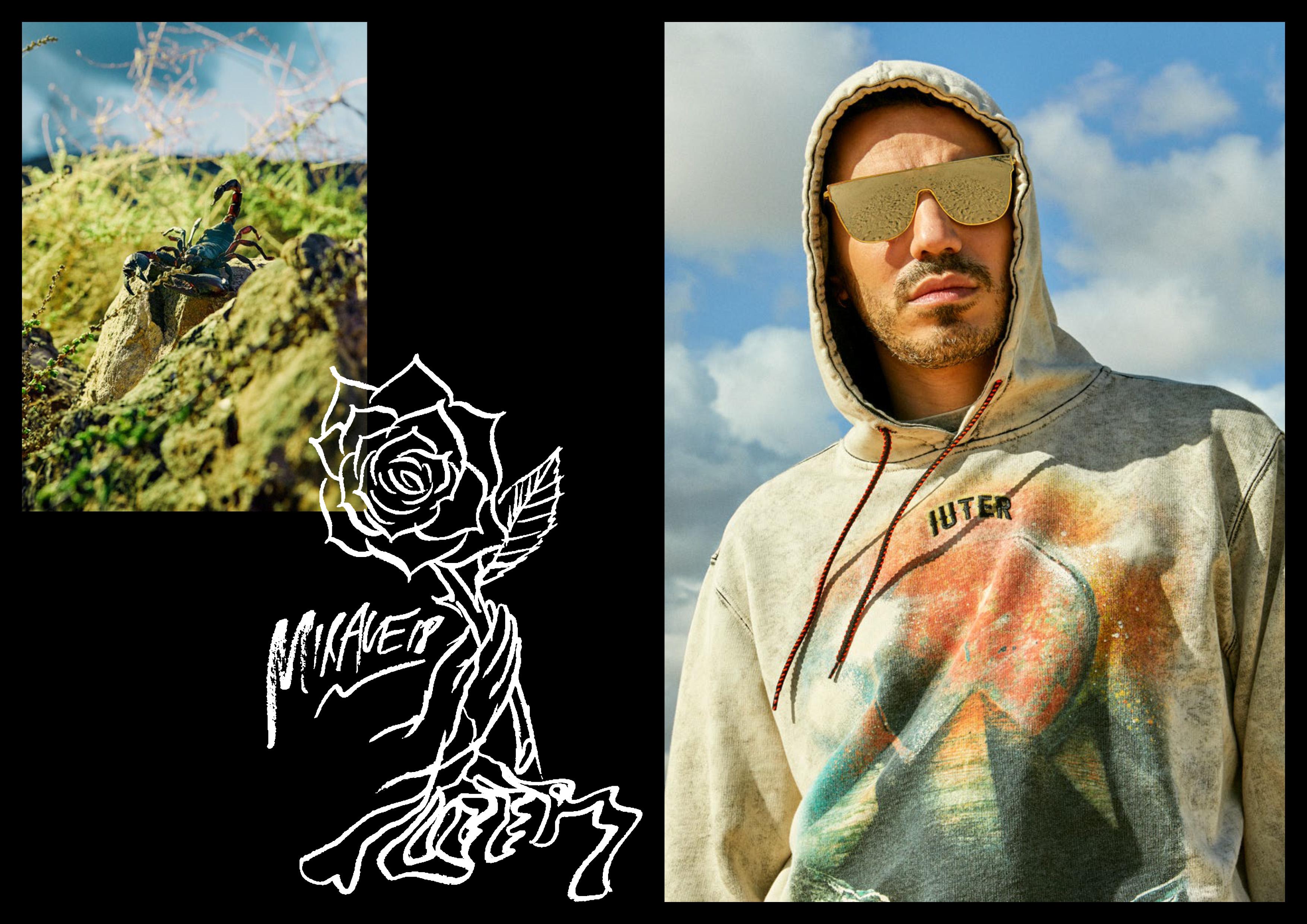Marracash il volto della collezione Mirage di IUTER 13