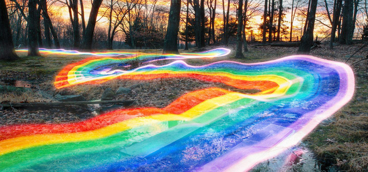 Rainbow Roads, le strade arcobaleno di Daniel Mercadante | Collater.al