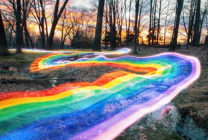 Rainbow Roads, Daniel Mercadante and his trails of rainbow