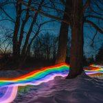 Rainbow Roads, le strade arcobaleno di Daniel Mercadante | Collater.al 2
