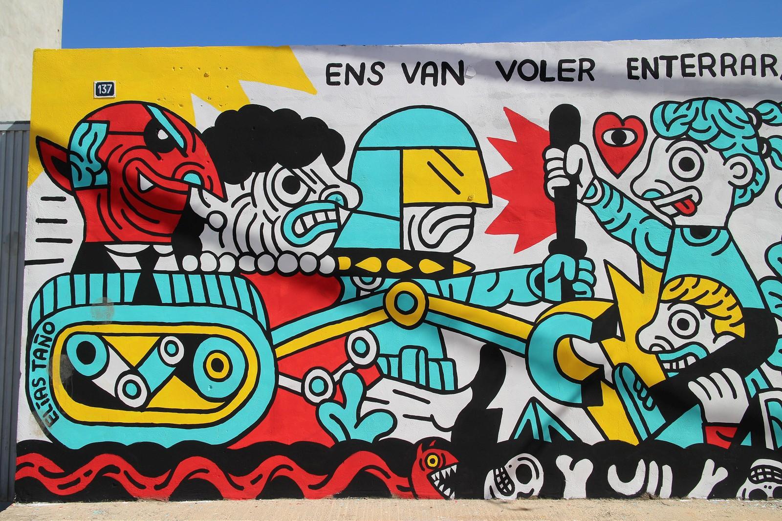 Sensemurs, la scena street in difesa di La Punta | Collater.al 13