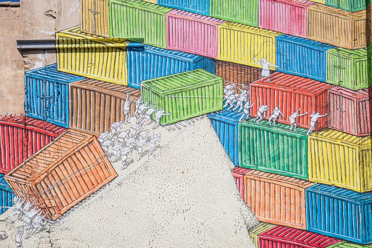 Sensemurs, la scena street in difesa di La Punta | Collater.al 2