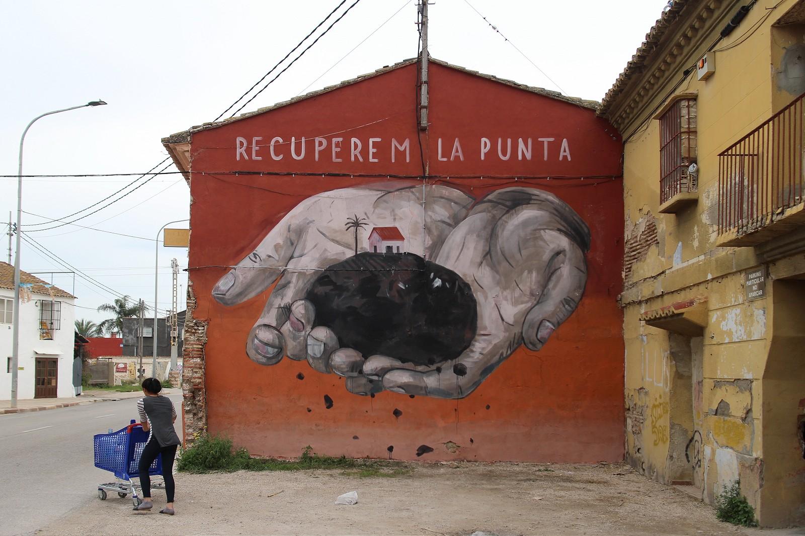 Sensemurs, la scena street in difesa di La Punta | Collater.al 8
