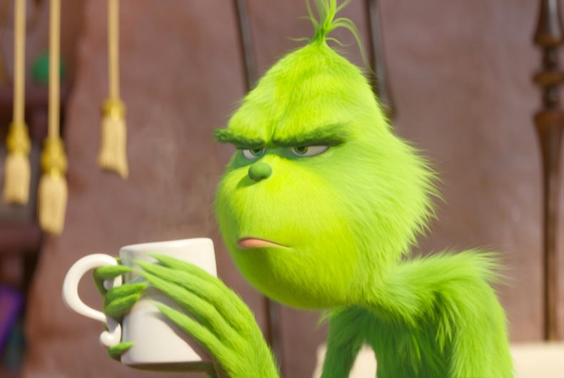 The Grinch first Official Trailer is finally out