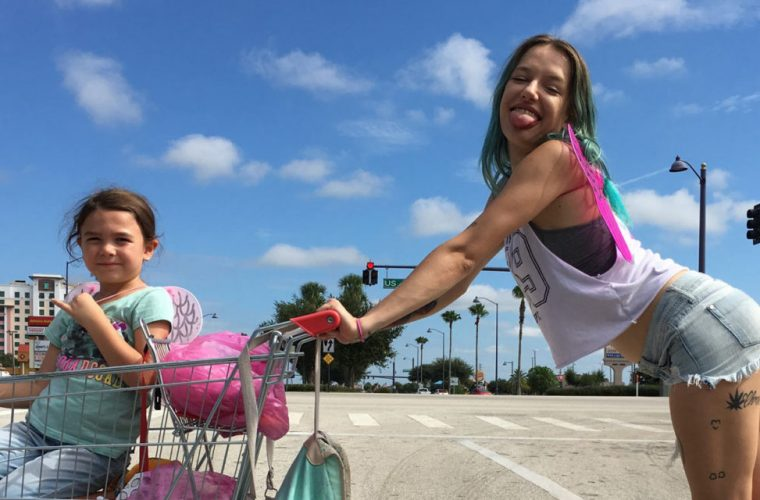 The Florida Project is Sean Baker's new film