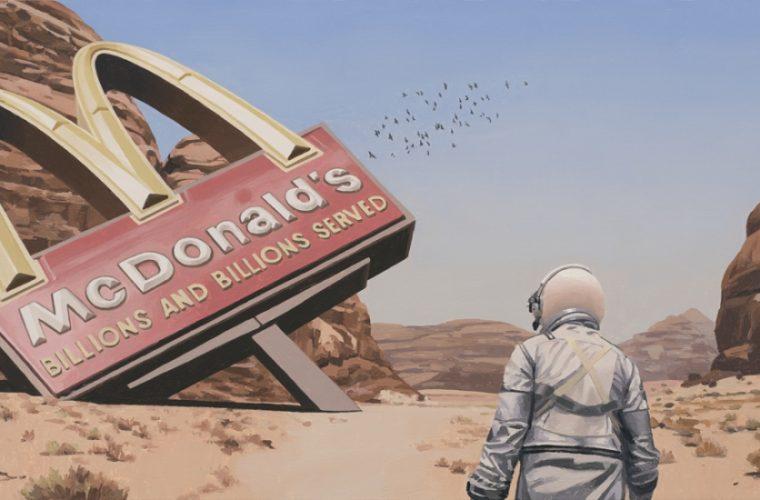 Alla scoperta del futuro nei dipinti di Scott Listfield