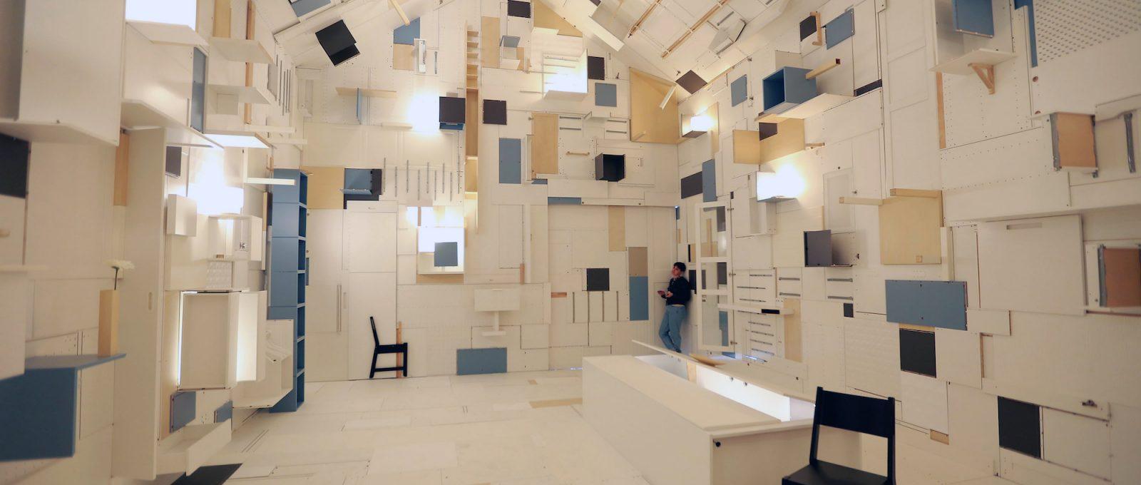 Alla scoperta dell'infinito, l'installazione di Lorenzo Damiani per IKEA