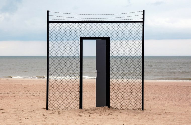 An Open Door, Icy and Sot new installation against anti-immigrant policies