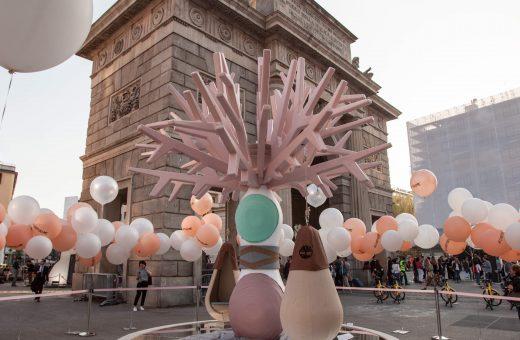 Dafne, l'installazione di Elena Salmistraro per Timberland