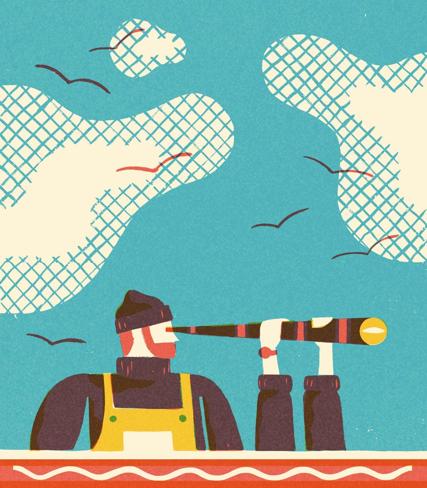 David Doran trasforma idee in bellissime illustrazioni | Collater.al 6