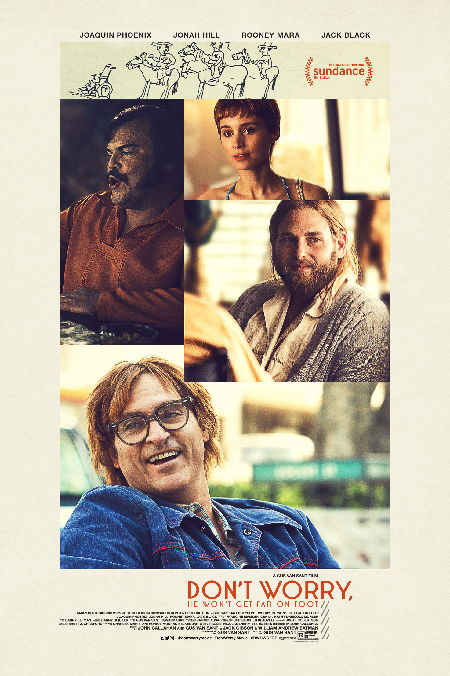 Dont Worry He Wont Get Far on Foot Gus Van Sant | Collater.al 2