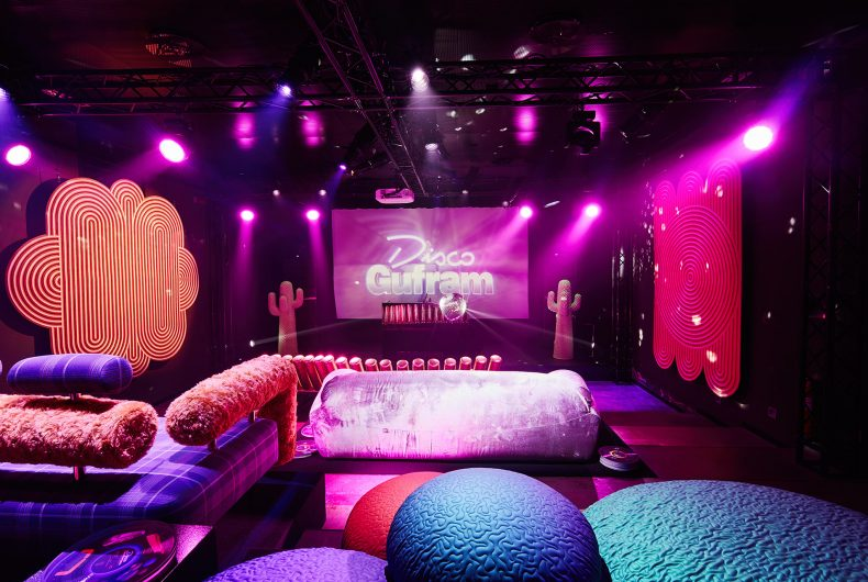 Gufram combines club culture with design with Disco Gufram