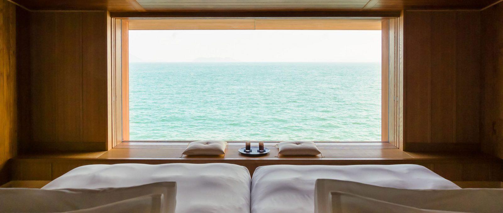 Guntû, the floating hotel that sails the Japanese coast
