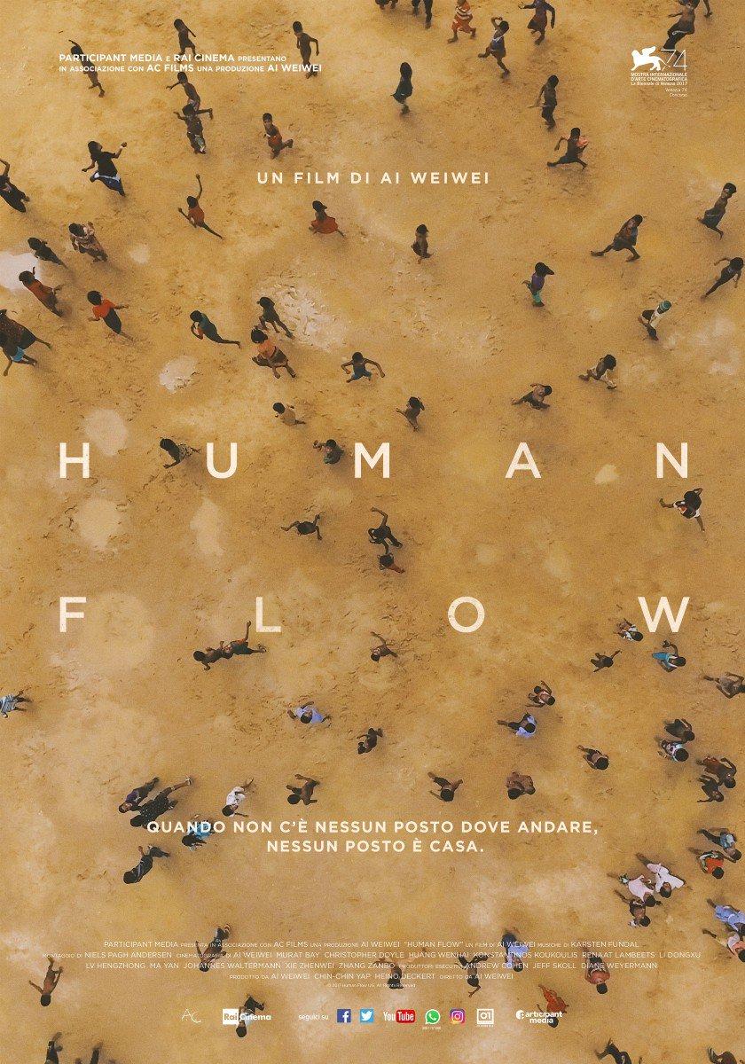 Human flow e l'arte di Ai Weiwei al cinema   Collater.al 2