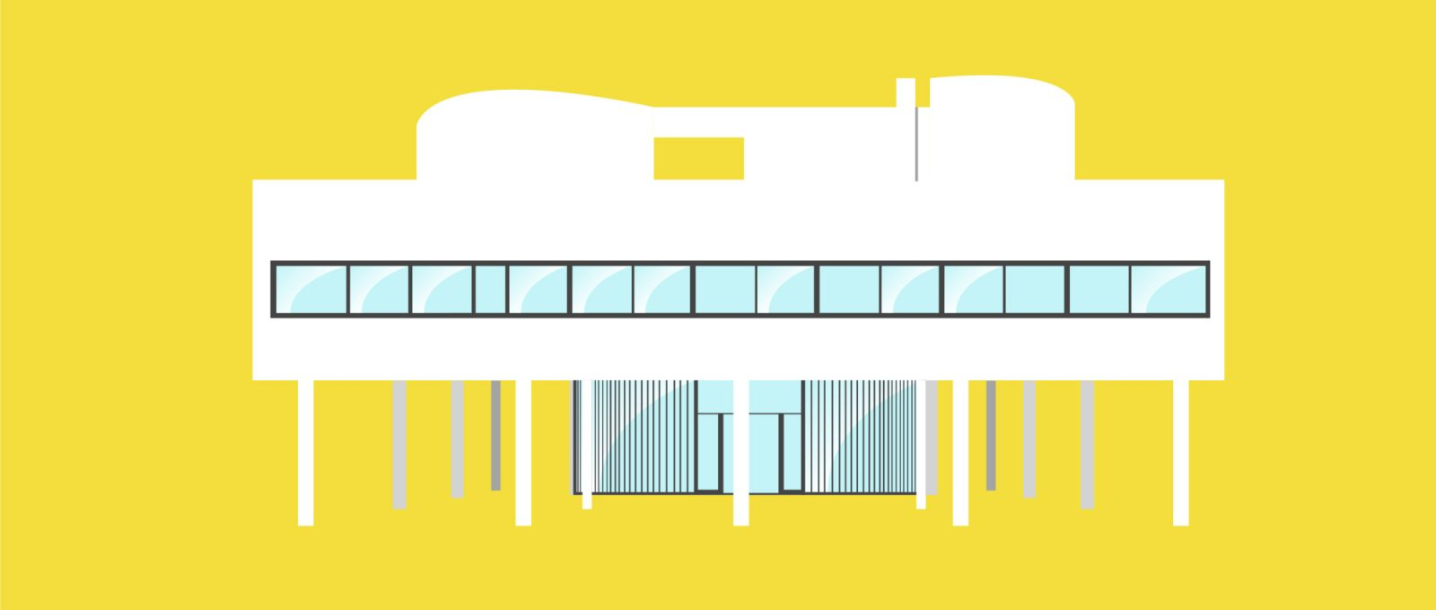 Short video for Breakfast – The most Iconic Houses in Matteo Muci's illustrated video