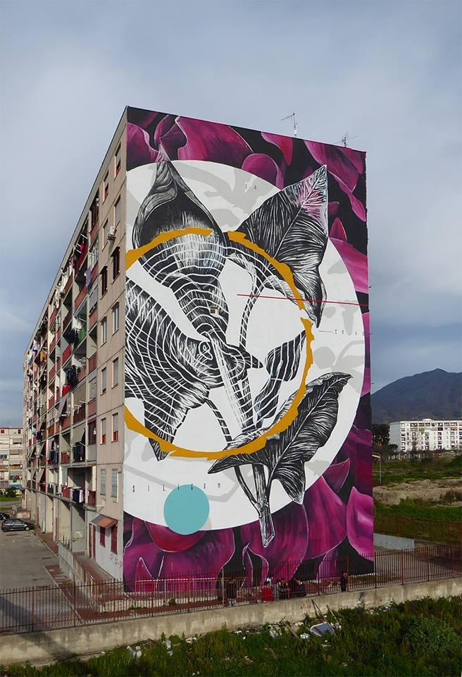 La Street Art colora la periferia di Napoli con il Parco dei Murales | Collater.al Fabio Petani