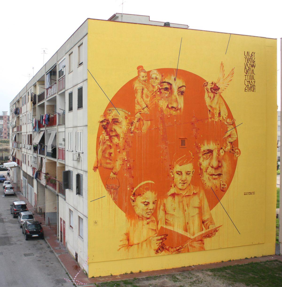La Street Art colora la periferia di Napoli con il Parco dei Murales | Collater.al Mattia CD Orto