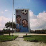 La Street Art colora la periferia di Napoli con il Parco dei Murales | Collater.al Rosk Loste