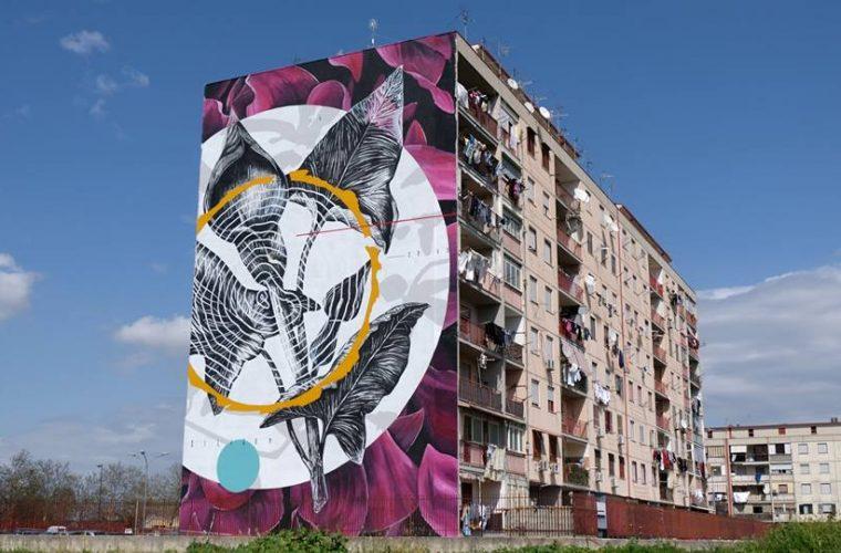 La Street Art colora la periferia di Napoli con il Parco dei Murales