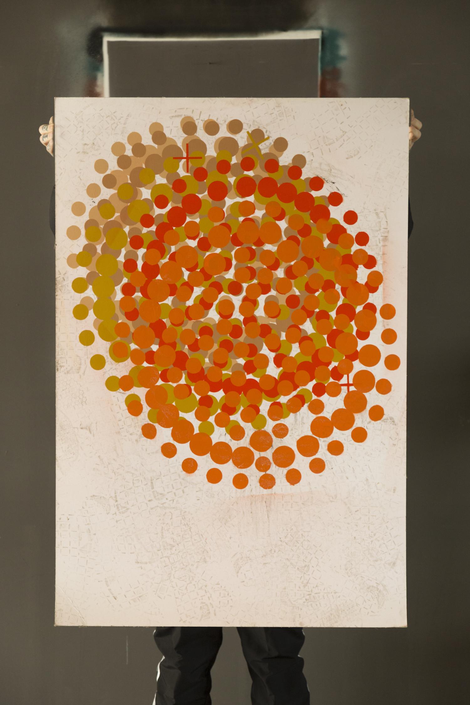 Plus Orbs, i cerchi di Andrea Sata Forever in mostra a EPPOL Milano | Collater.al 1