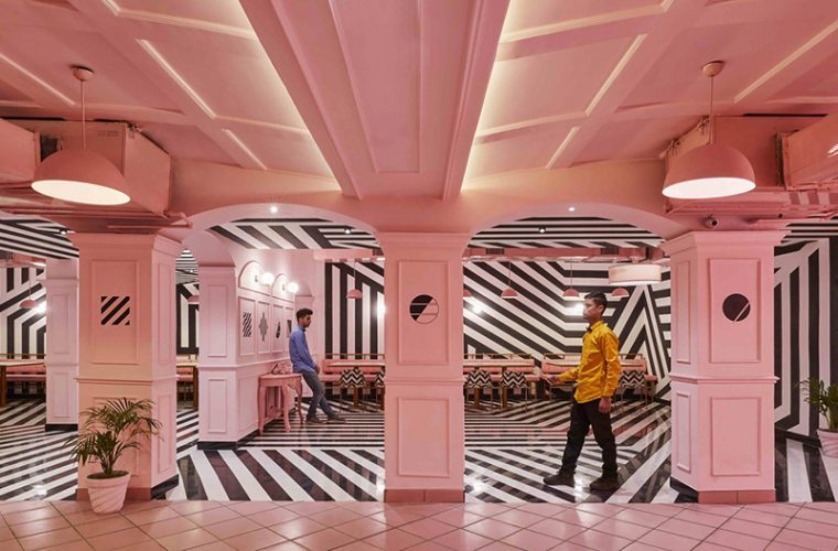 The Pink Zebra, the Indian restaurant inspired by Wes Anderson