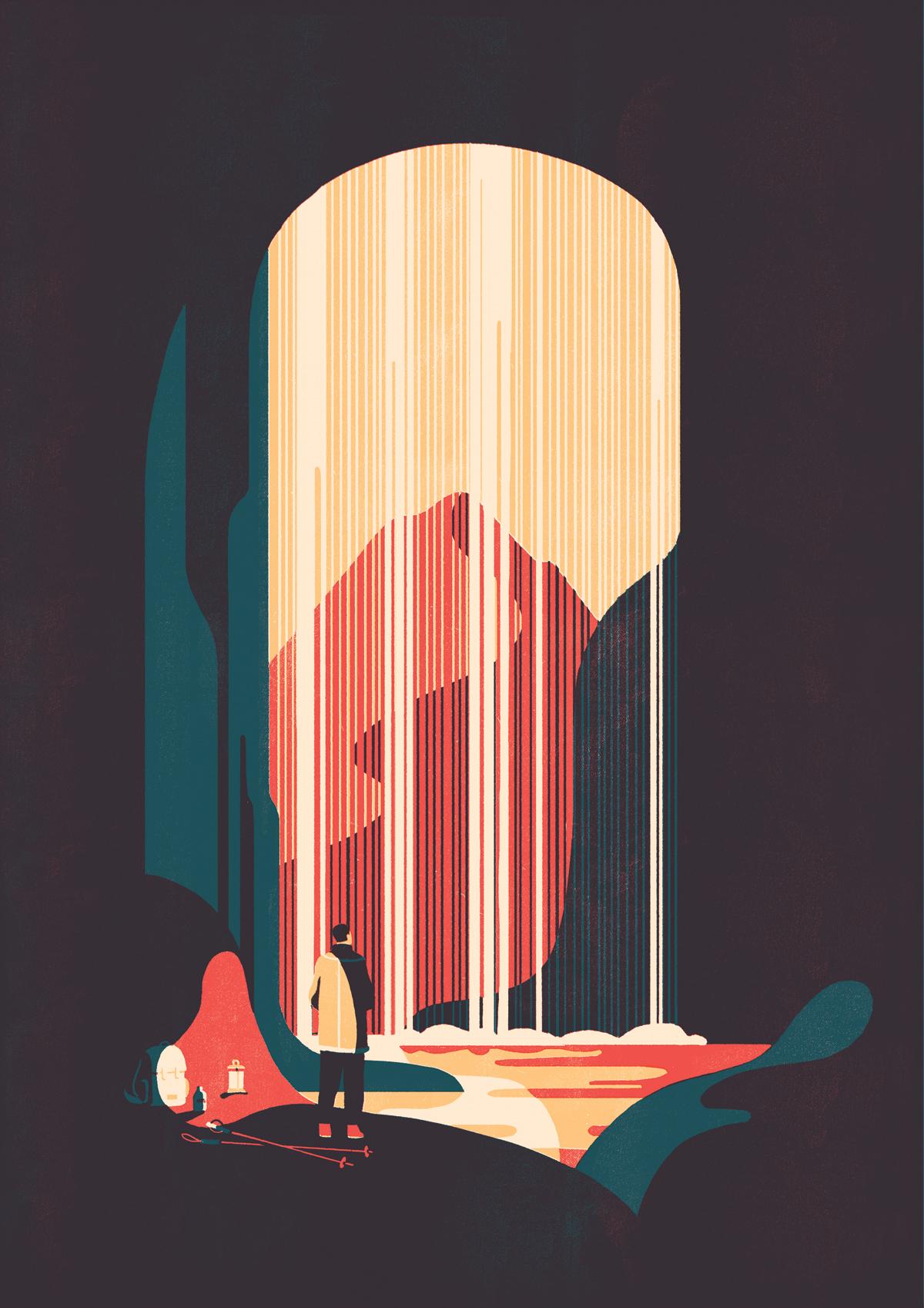 Le illustrazioni essenziali ed eleganti di Tom Haugomat | Collater.al