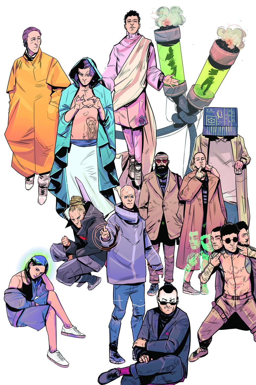 Asian Fake The Origin, il fumetto che racconta la label | Collater.al 14