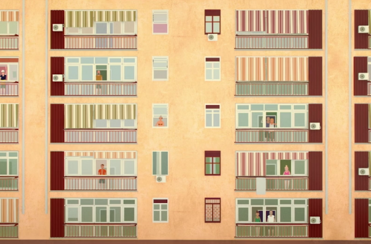 Short video for Breakfast – Balcony, lo stravagante invito a reagire di Davide Dell'Edera
