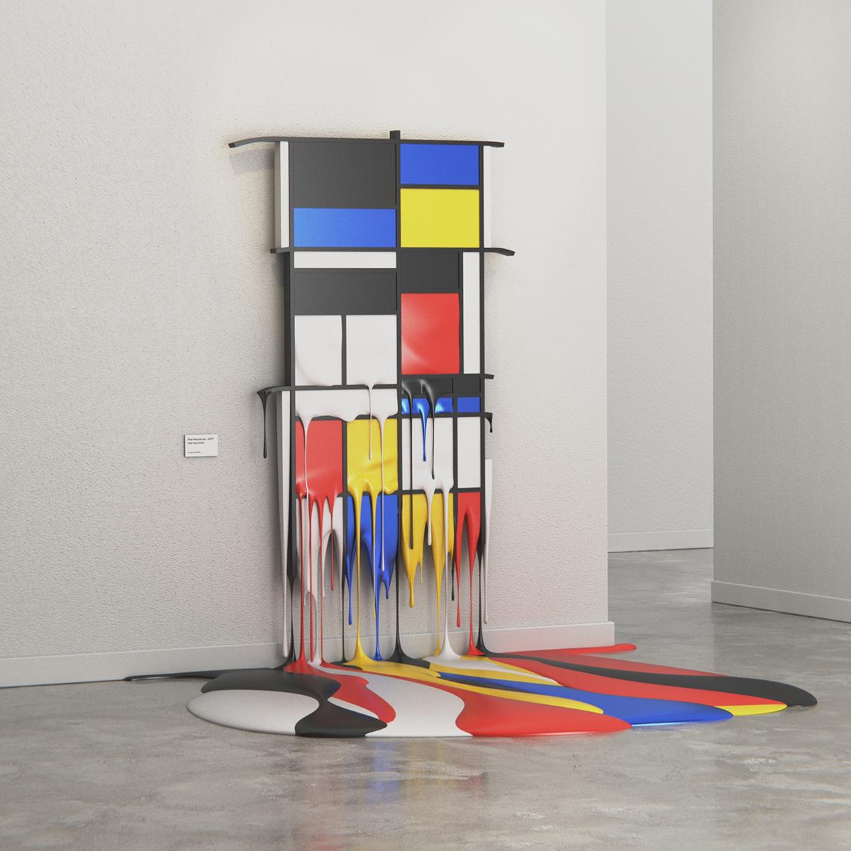 Hot Art Exhibition, gli effetti dell'estate sulle opere arte | Collater.al 1