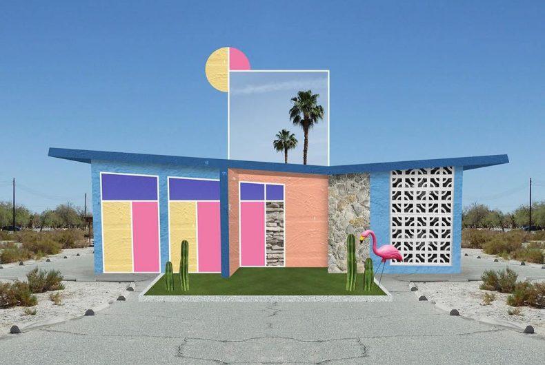 I collage architettonici di Habitat Legit