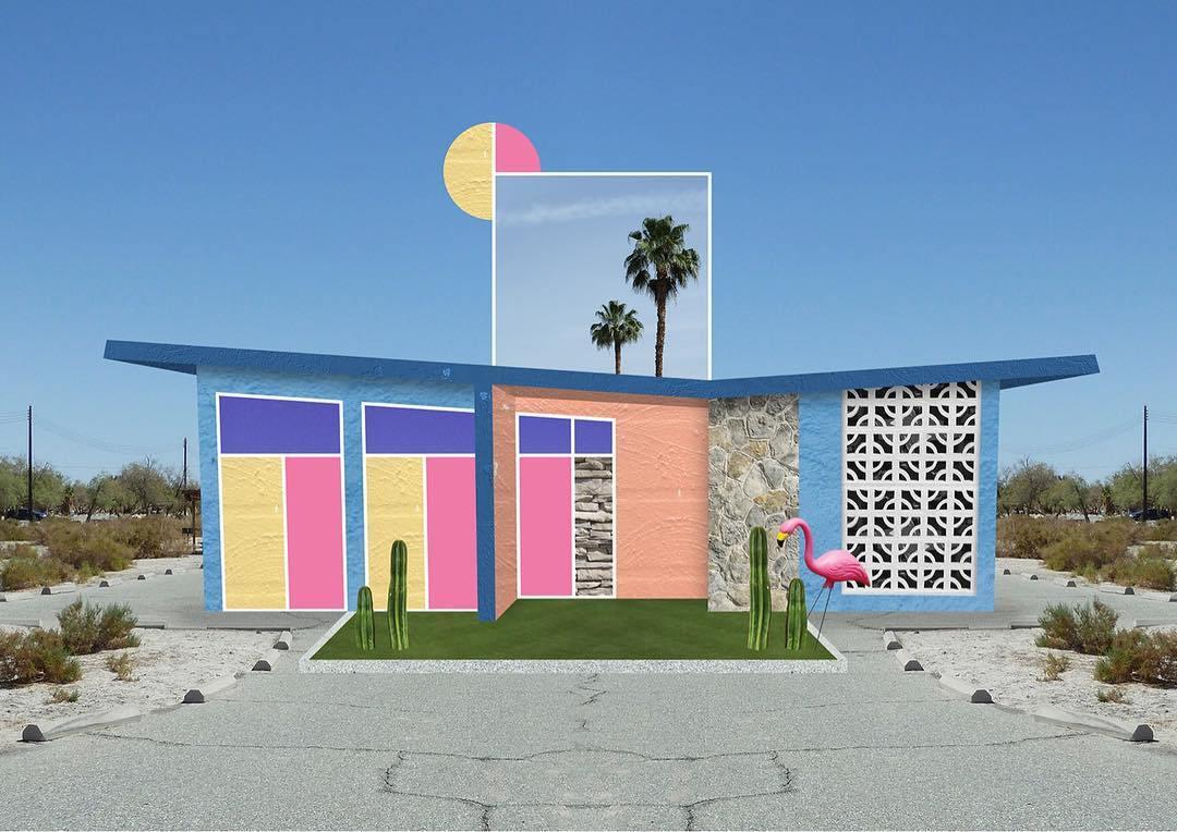 I collage architettonici di Habitat Legit | Collater.al 1