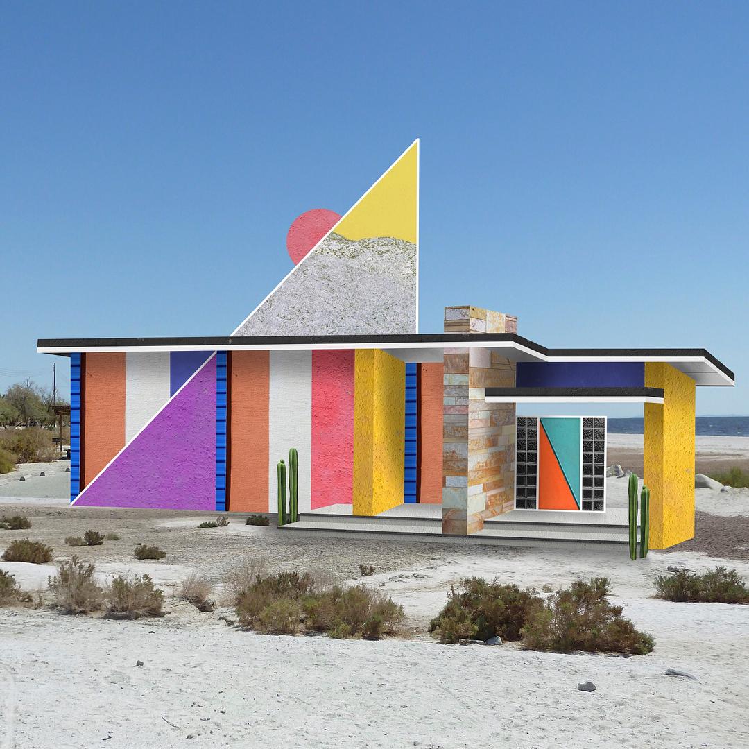 I collage architettonici di Habitat Legit | Collater.al 10