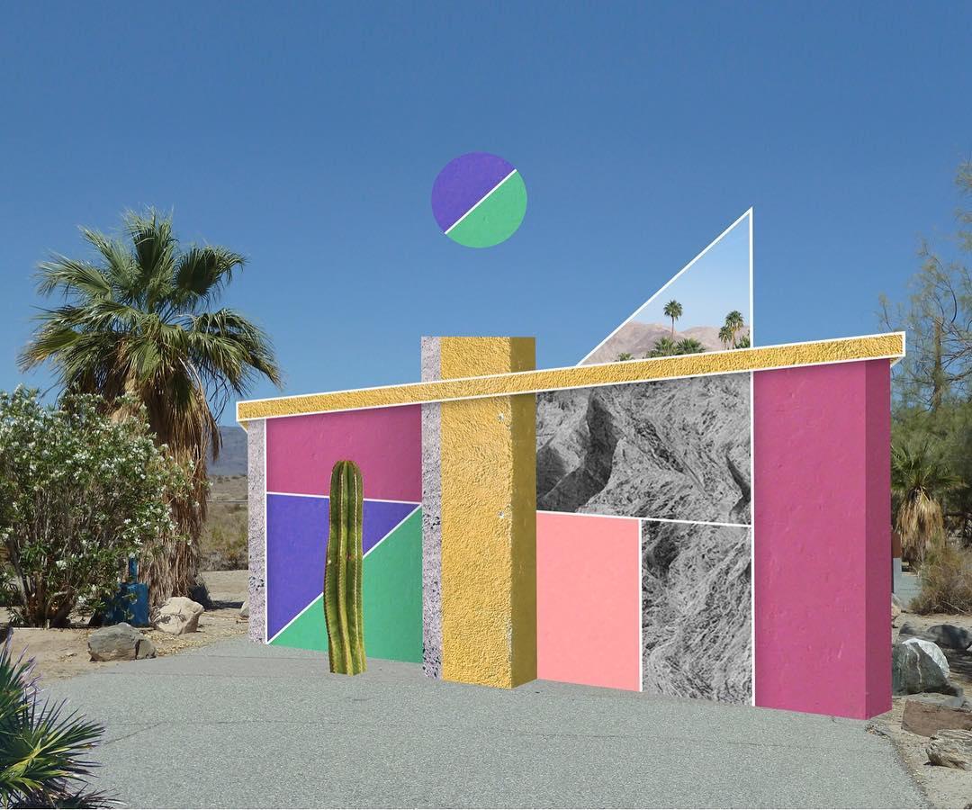 I collage architettonici di Habitat Legit | Collater.al 11