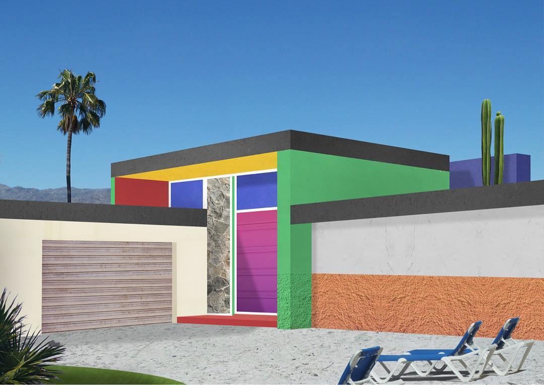 I collage architettonici di Habitat Legit | Collater.al 2
