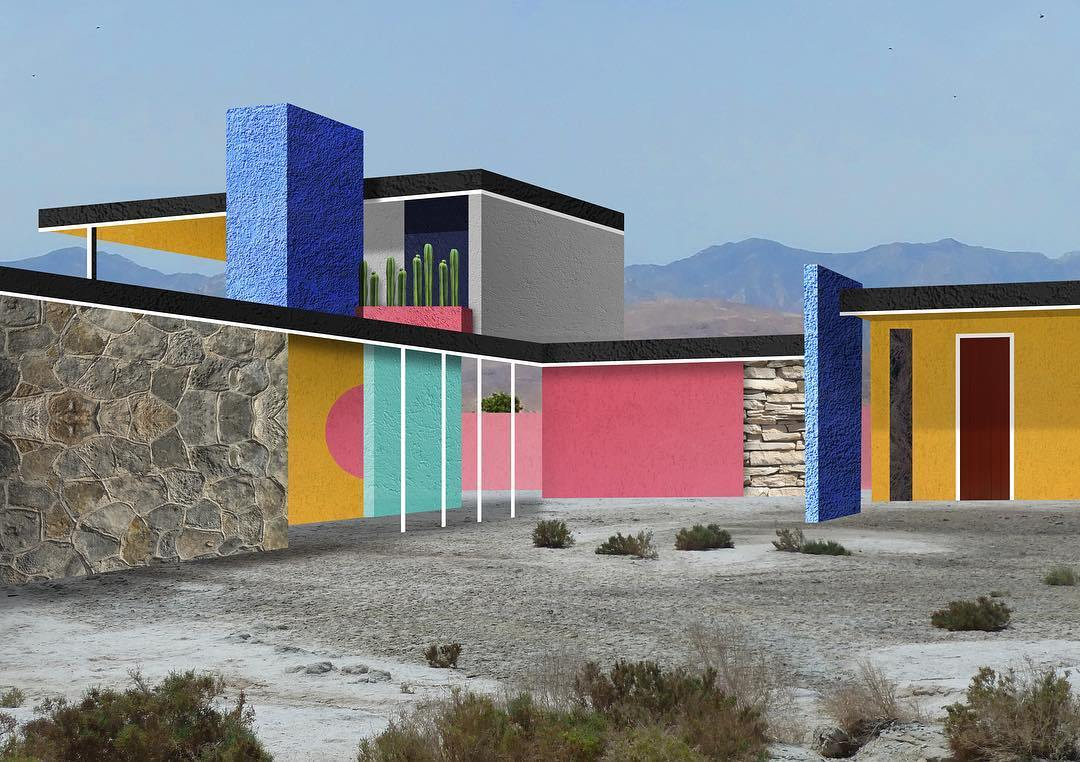 I collage architettonici di Habitat Legit | Collater.al 5