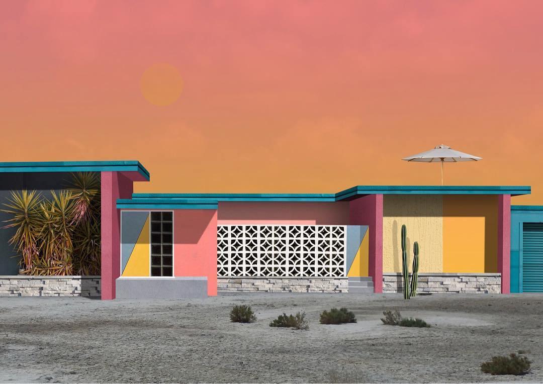 I collage architettonici di Habitat Legit | Collater.al 6
