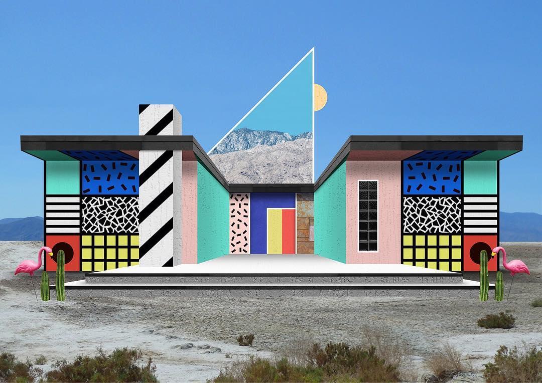 I collage architettonici di Habitat Legit | Collater.al 8