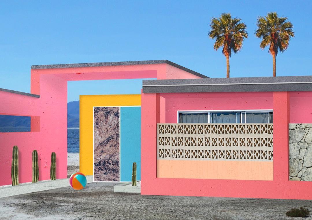 I collage architettonici di Habitat Legit | Collater.al 9