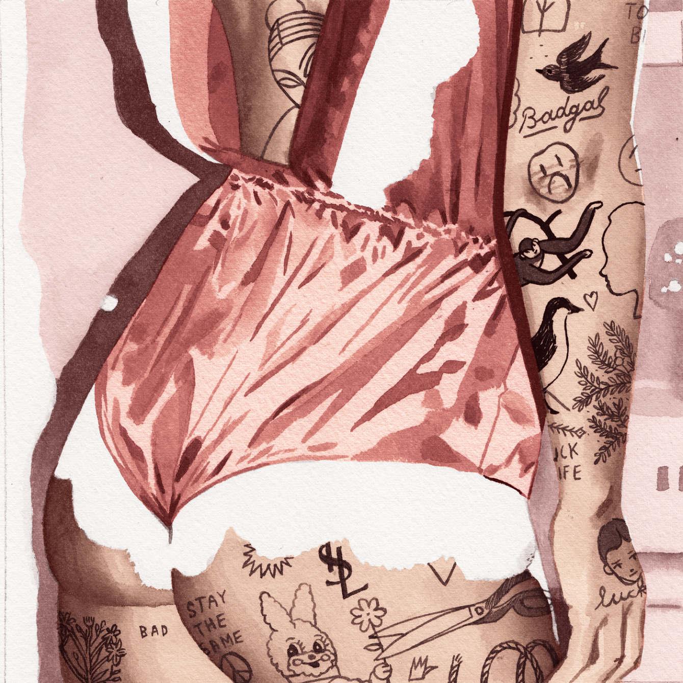 I corpi tatuati NSFW Jean Andre | Collater.al 12