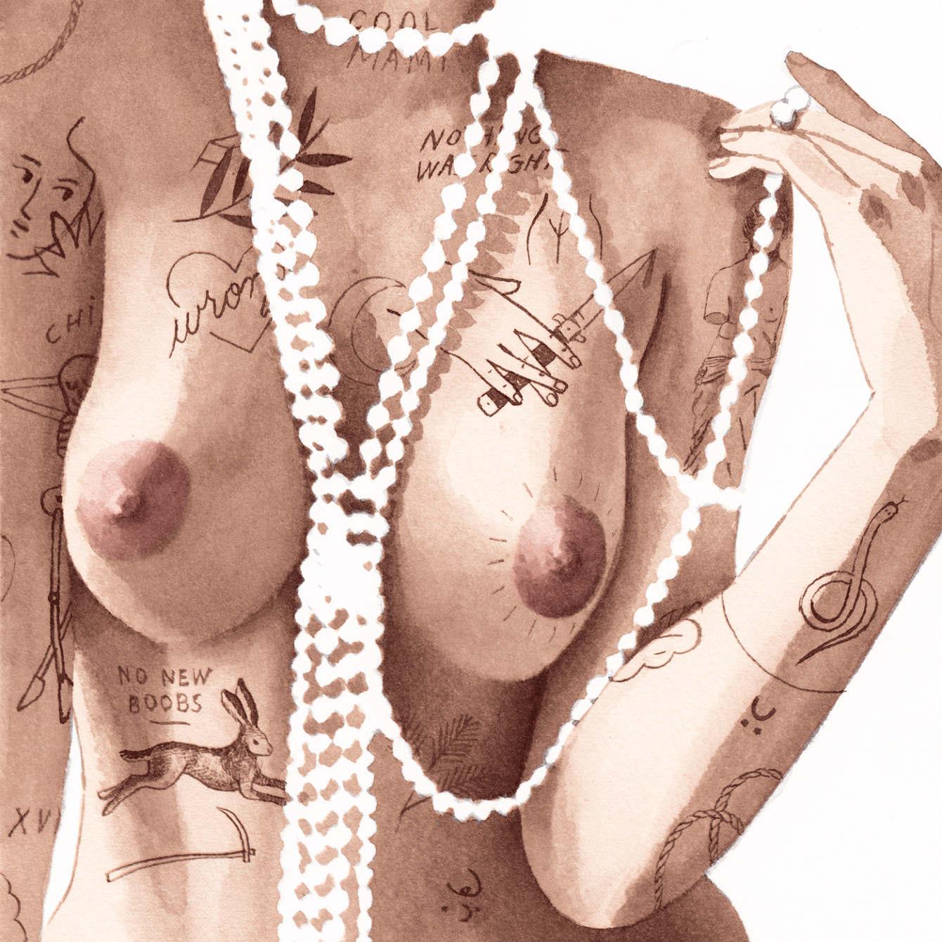 I corpi tatuati NSFW Jean Andre | Collater.al 16